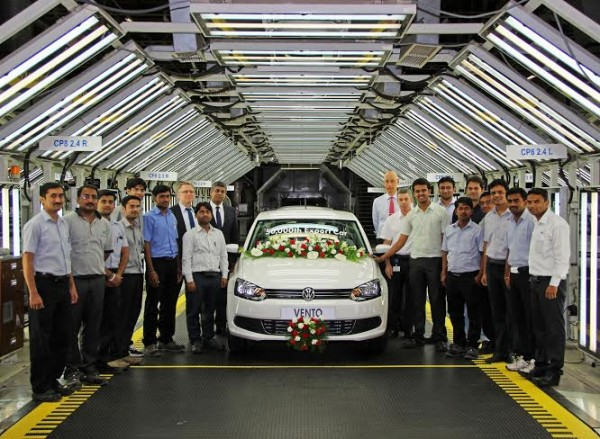 Volkswagen India's New Diesel Engine Facility