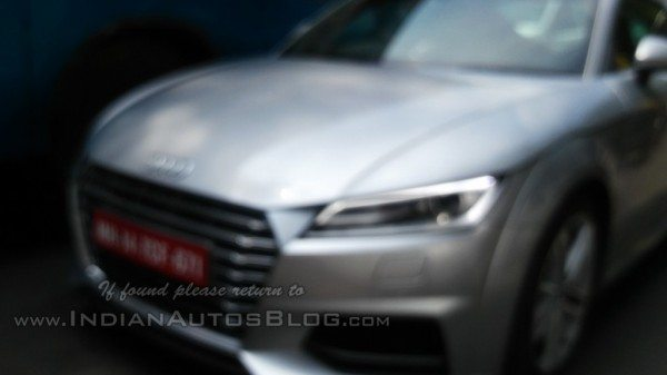 New 2015 Audi TT Spotted Testing in Bangalore