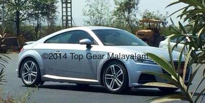 [SPY IMAGES] New 2015 Audi TT spotted in India