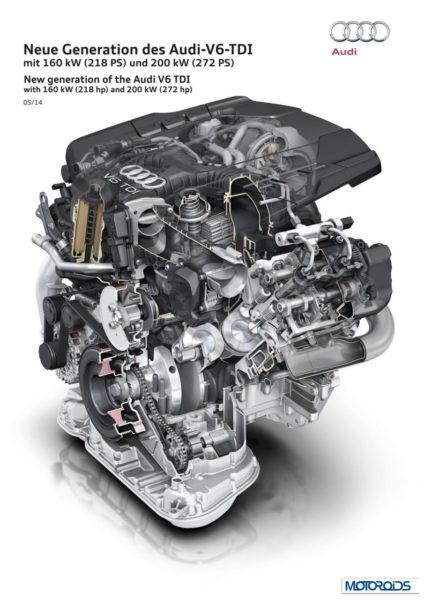 Audi new 3.0 TDi diesel engine