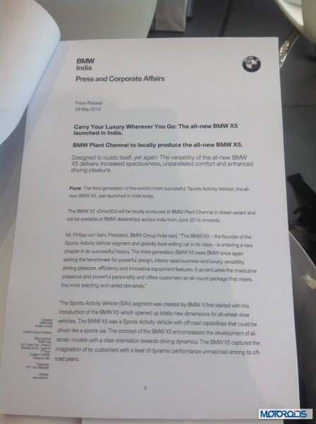 BMW X5 official press release (2)