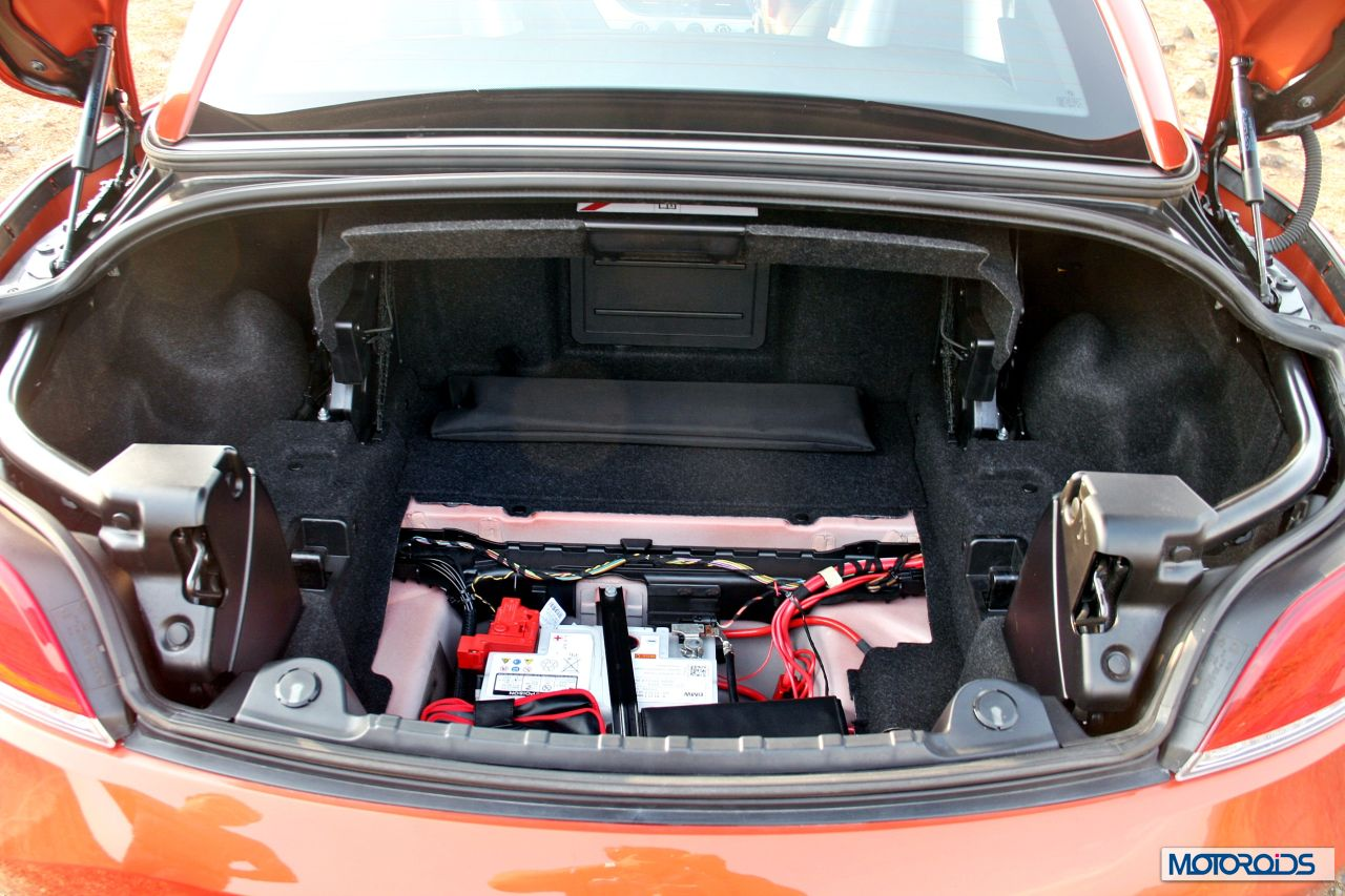 Bmw Z4 Boot Size