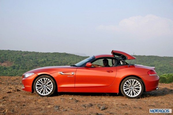 BMW Z4 convertible roof (10)