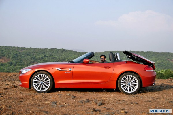 BMW Z4 convertible roof (3)