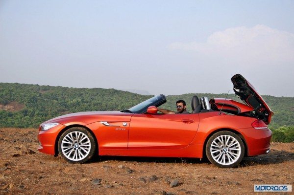 BMW Z4 convertible roof (4)