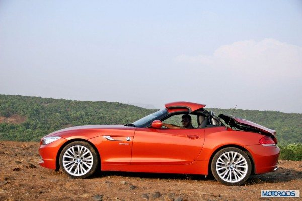 BMW Z4 convertible roof (8)