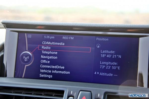 BMW Z4 sDrive 35i interior (10)