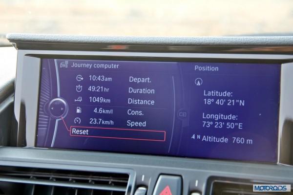 BMW Z4 sDrive 35i interior (11)