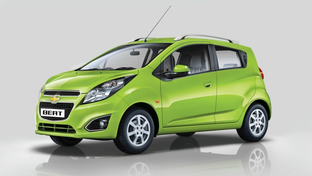 Chevrolet Beat Export from India