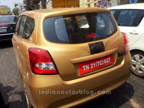 Datsun-Go+-MPV-spied-in-India-rear-quarter