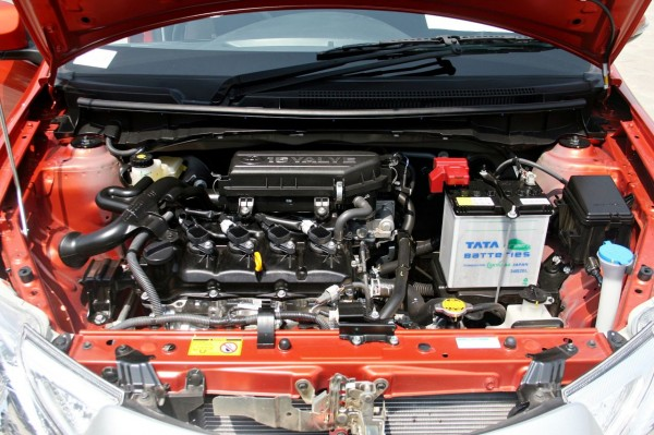 Etios 1.5 petrol engine