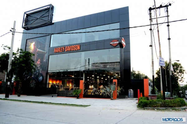 Harley Davidson Gurgaon Dealership (2)