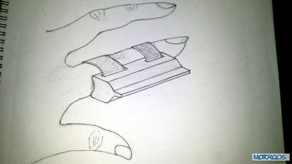 Helmet finger wiper packaging (3)