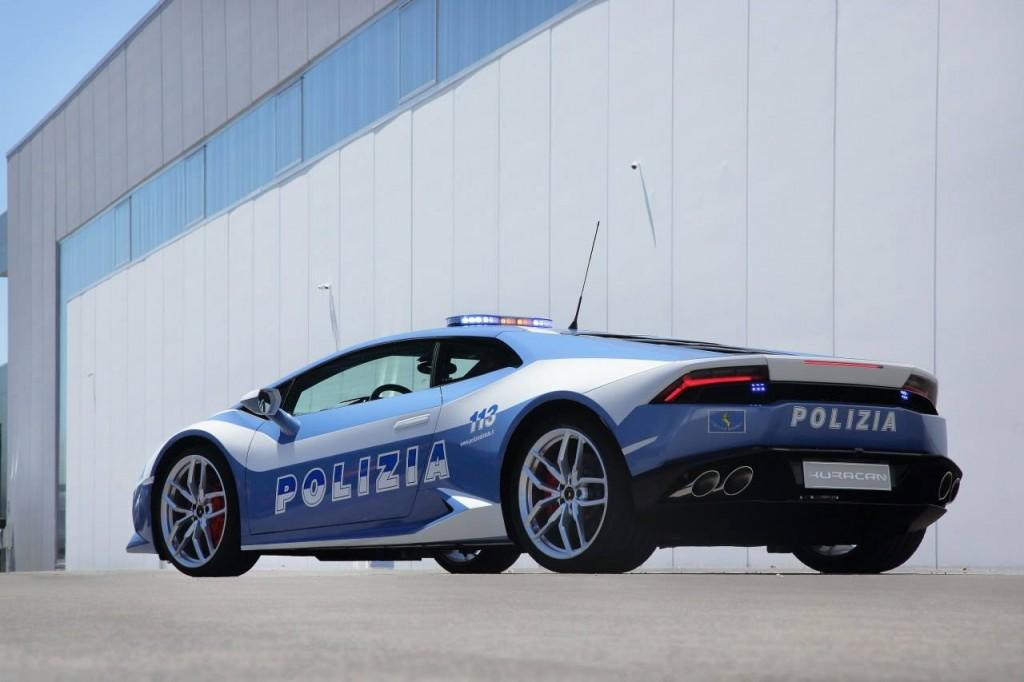 Italian Police Lamborghini Huracan (2)
