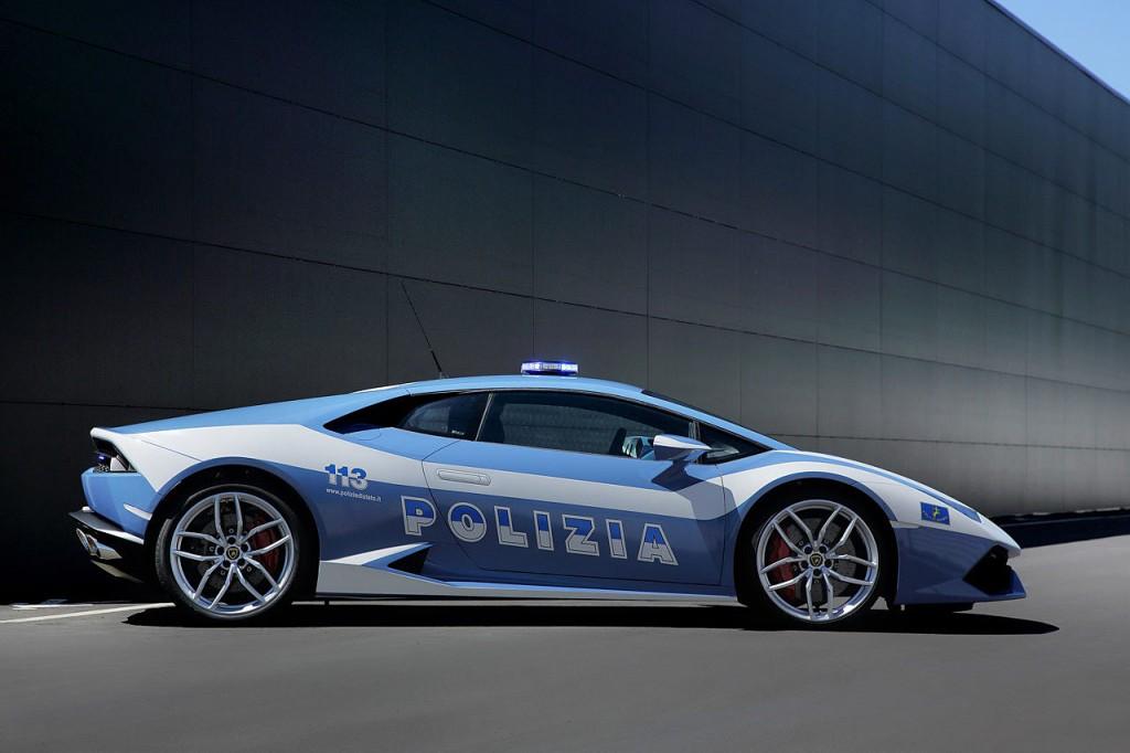Italian Police Lamborghini Huracan (3)