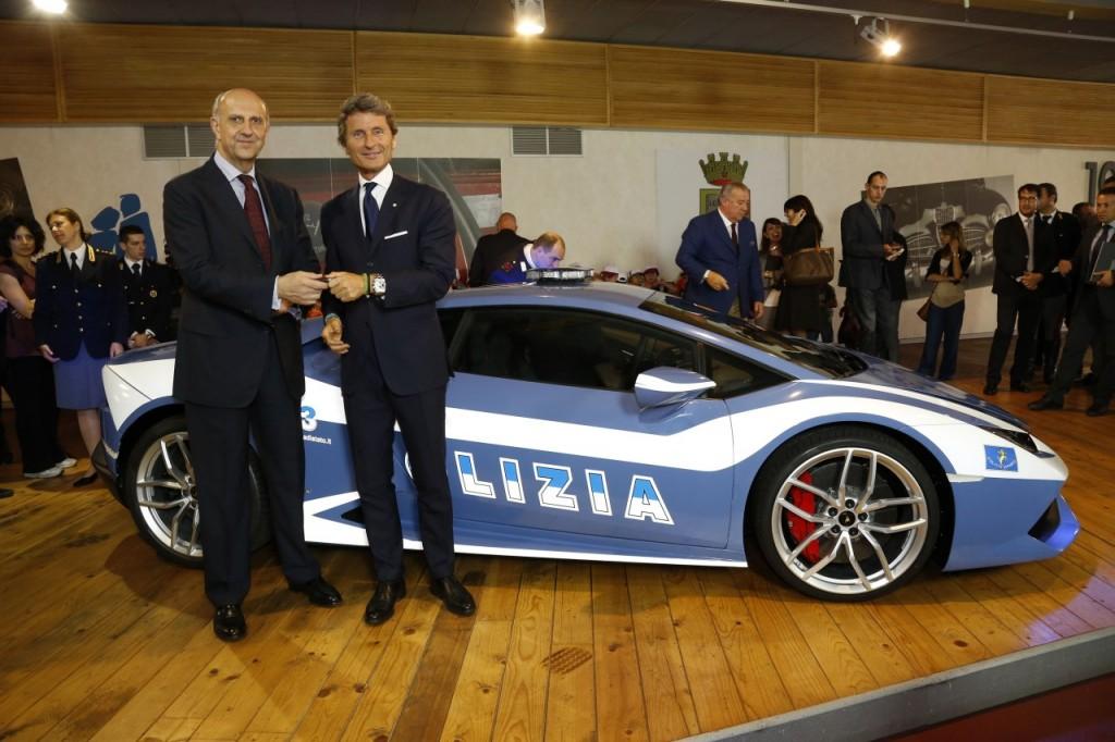 Italian Police Lamborghini Huracan (4)
