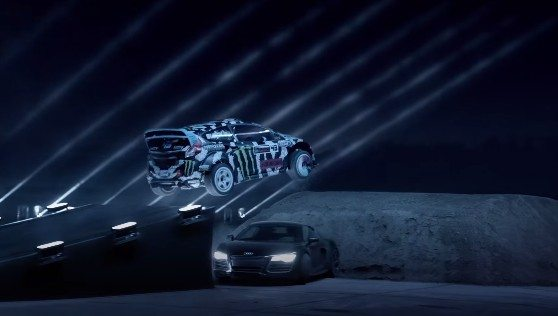 Ken block castrol edge light