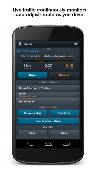 MapmIndia NaviMaps - Screenshot 2