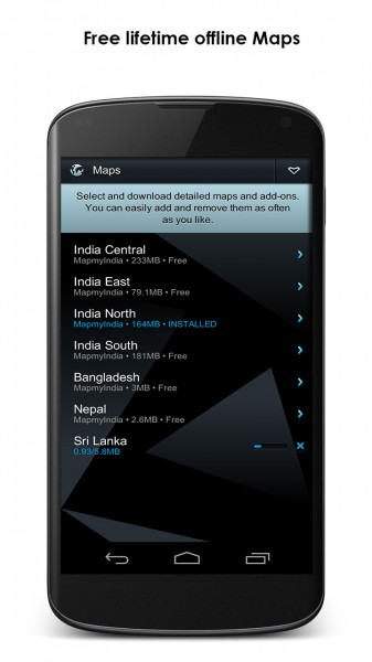 MapmIndia NaviMaps - Screenshot