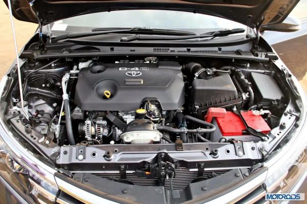 New Corolla Altis engine