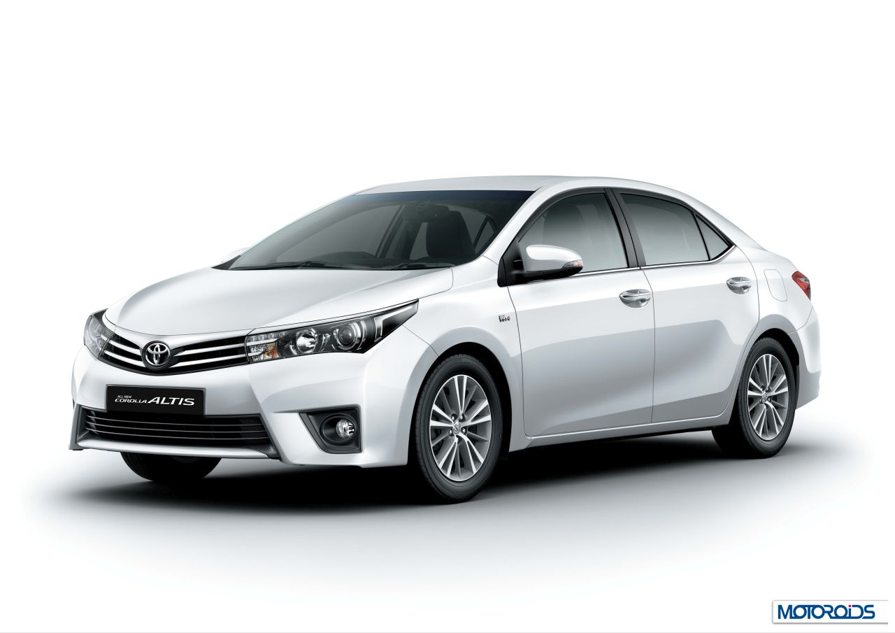 New 2014 Toyota Corolla Altis Launched Price Inr 11 99 To