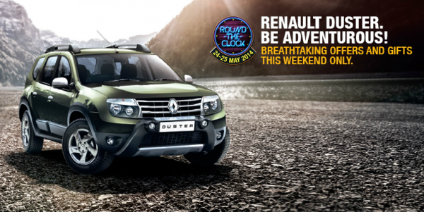 Renault india round the clock