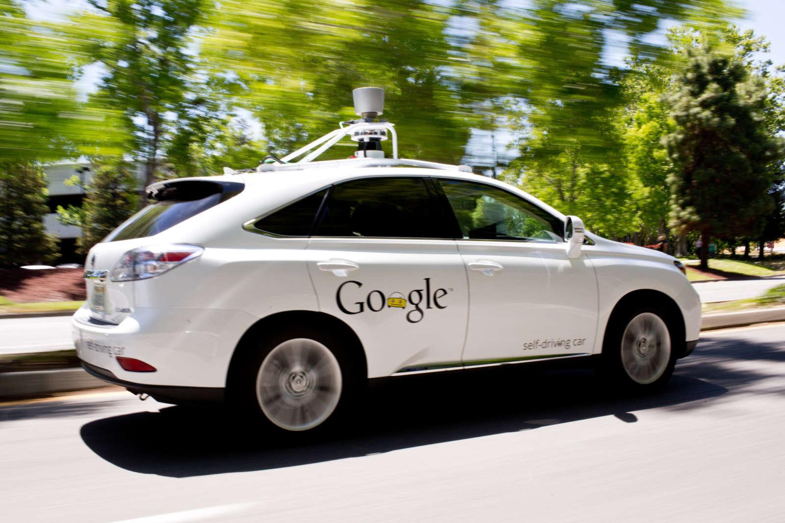 google-autonomous-lexus