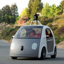 Google self driving car will feature a steering wheel and pedals