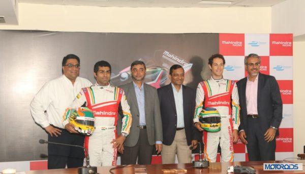 karun Chandhok and Bruno Senna Mahindra Formula E (1)