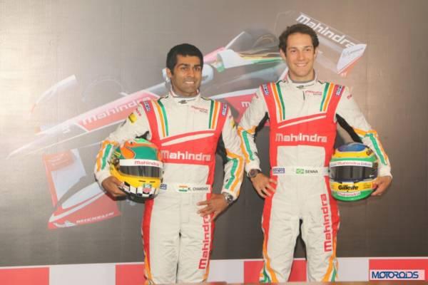 karun Chandhok and Bruno Senna Mahindra Formula E (2)