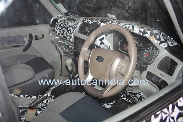 mahindra scorpio facelift interior images 1