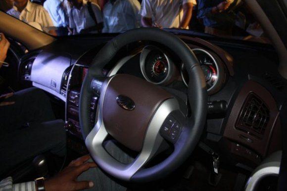 mahindra scorpio facelift interior images 3