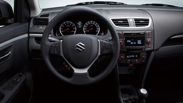 maruti suzuki swift facelift launch interior images 1