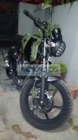 Check out this Modifie... Yamaha Rx 100 Modified Into Dirt Bike