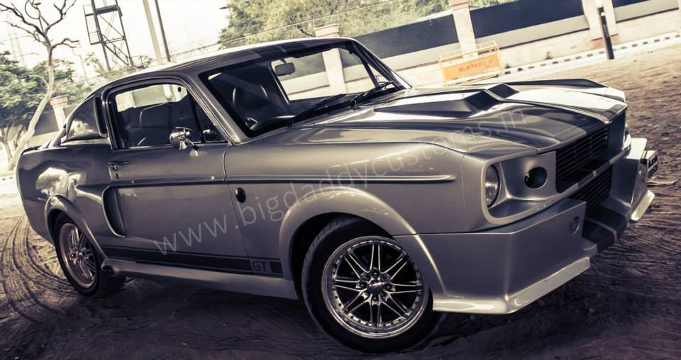 Modified Chevrolet Optra Ford Mustang Eleanor Images 4