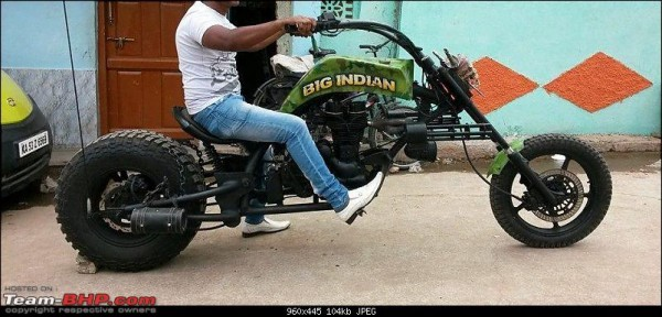 modified royal enfield images 1