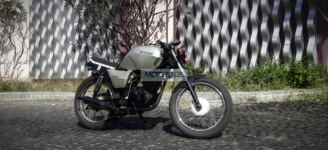 Modified Suzuki Fiero Cafe Racer From Dochaki Designs