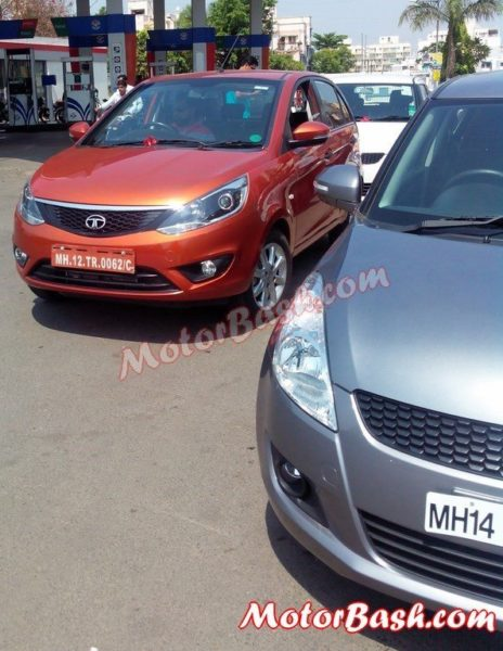 tata bolt vs maruti swift images 1