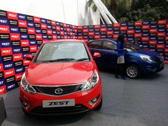 tata zest and bolt launch 1