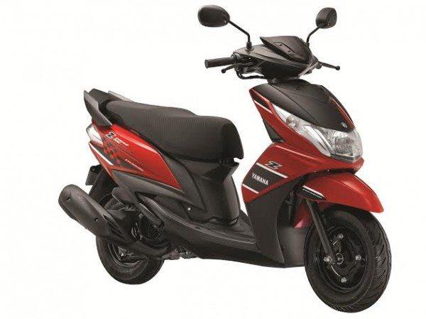 yamaha ray z india design mark 2014