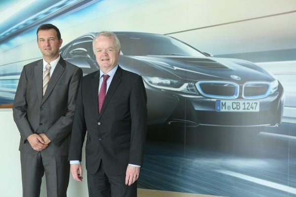03 LtoR Mr. Robert Frittrang, Managing Director, BMW Plant Chennai with Mr. Philipp von Sahr, President, BMW Group India at BMW Plant Chennai