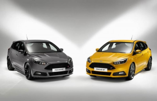 New 2015 Ford Focus ST Unveiled