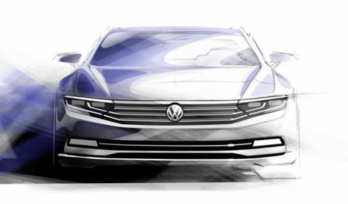 Next-gen 2015 Volkswagen Passat Extensive Details and Images Leaked