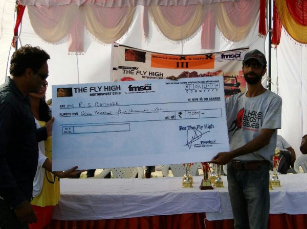 Ace Polaris Rider, Mr. Raj Singh Rathore