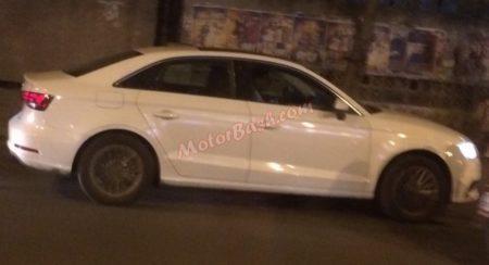 Audi A3 Spied; Launch Next Month