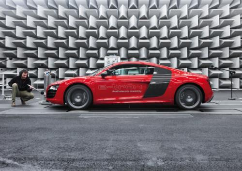 Audi R8 e tron electric car image 6