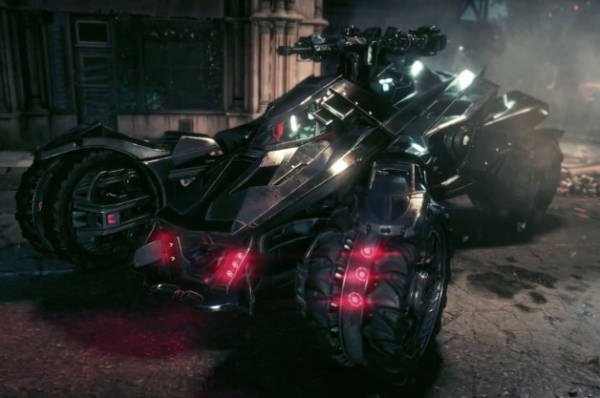 Batmobile-Video-Game
