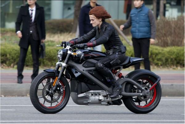 Electric Harley-Davidson Bike Spied