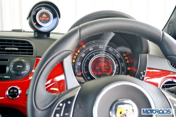 Fiat 500 Abart interior (20)