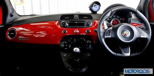 Fiat 500 Abart interior (21)